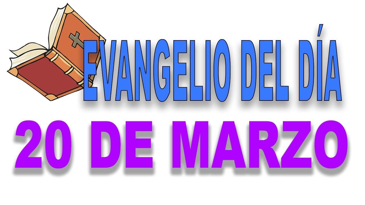 Evangelio del día 20 de marzo con el Padre Guillermo Serra