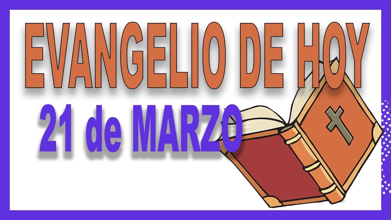 Evangelio del día 21 de marzo con el Padre Guillermo Serra