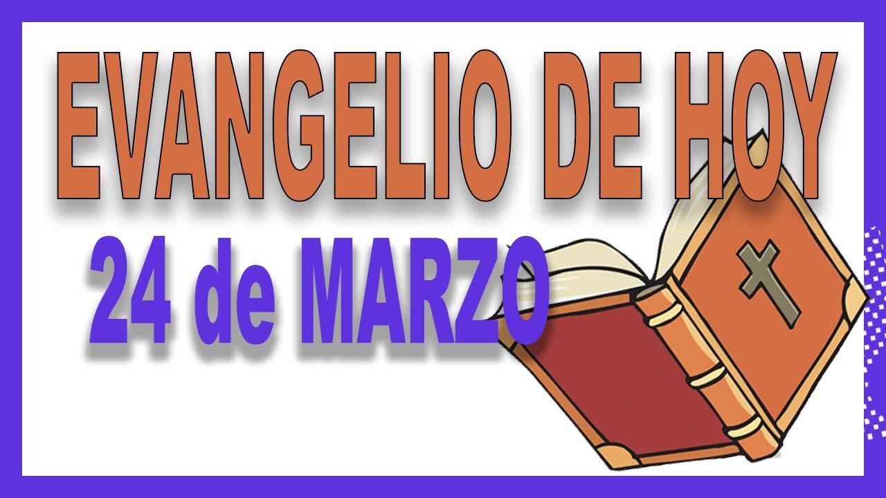 Evangelio del día 24 de marzo con el Padre Guillermo Serra