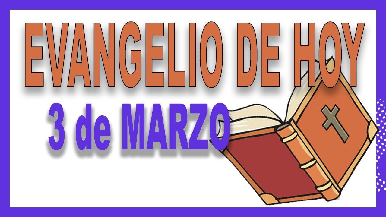 Evangelio del día 3 de marzo con el Padre Guillermo Serra