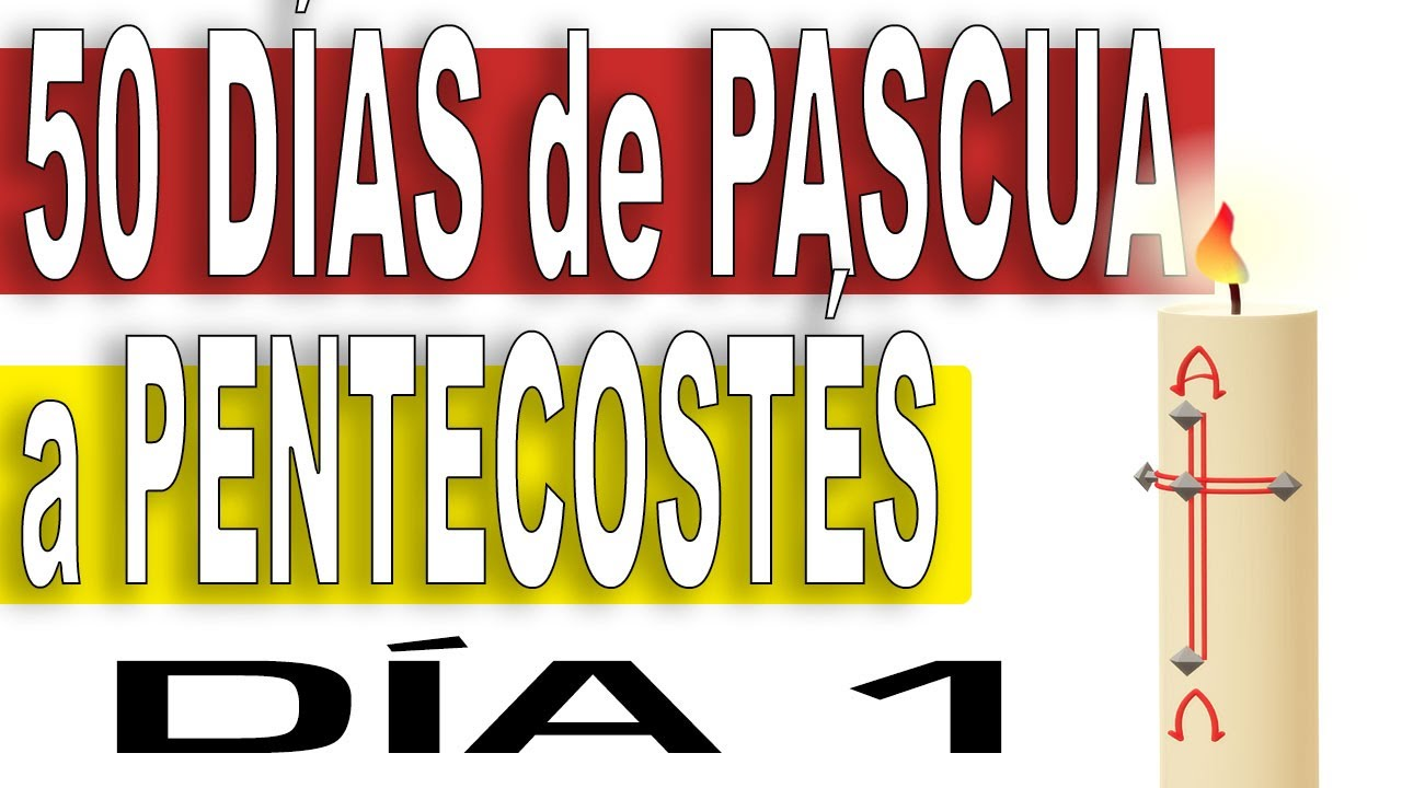 50 días de CAMINO de PASCUA a PENTECOSTÉS