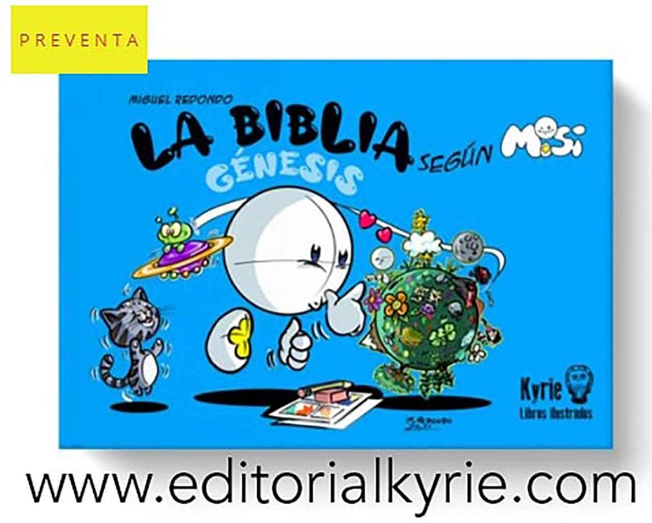 Sale a la luz el comic de Misi del artista católico Miguel Redondo con la Editorial Kyrie