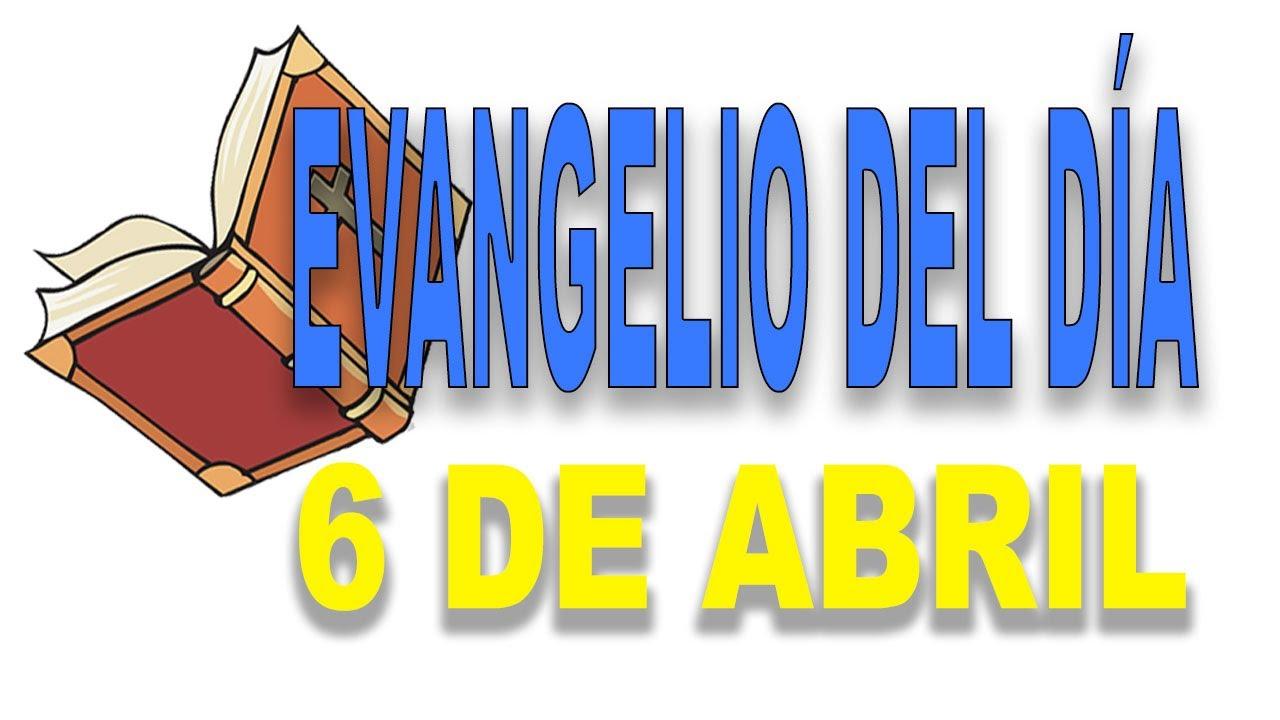 Evangelio del 6 de abril con el Padre Guillermo Serra