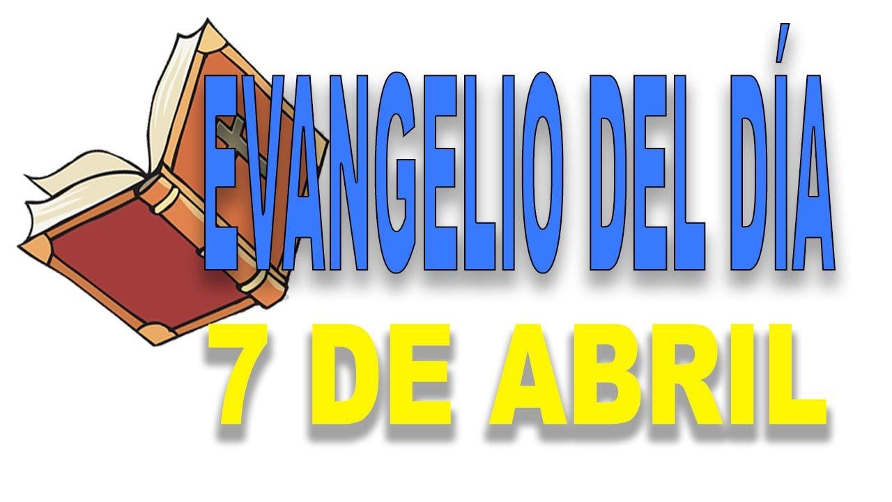 Evangelio del 7 de abril con el Padre Guillermo Serra