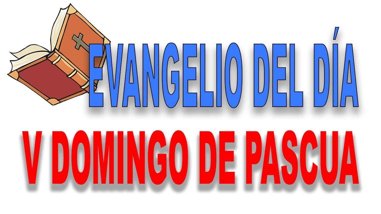 Reflexión del evangelio del quinto Domingo de Pascua