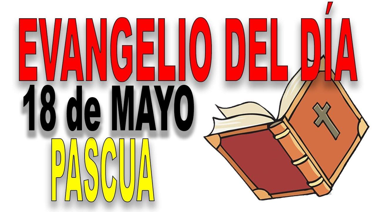 Evangelio del día 18 de mayo con el Padre Guillermo Serra