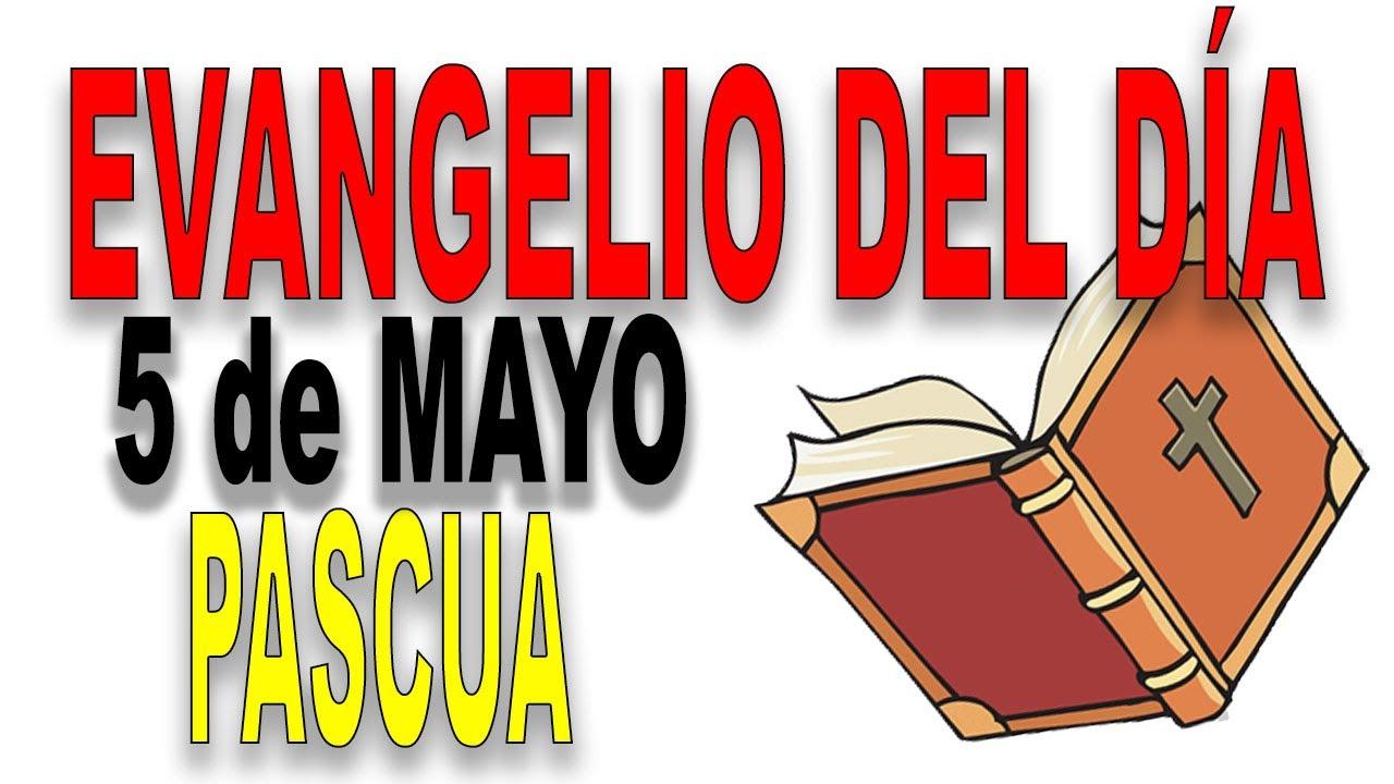 Evangelio del día 5 de mayo con el Padre Guillermo Serra