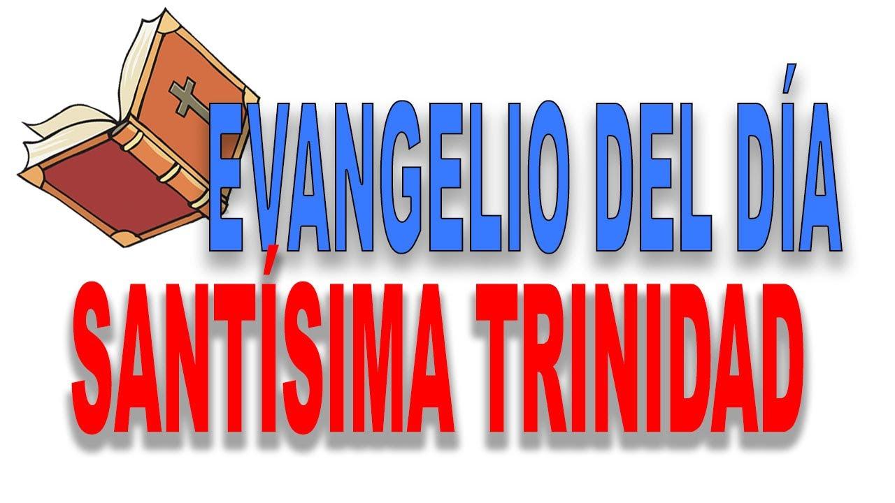 Reflexión para la festividad de La Santísima Trinidad