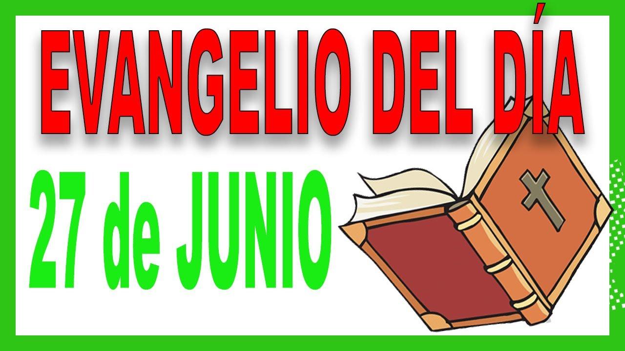 Evangelio del día 27 de junio con el Padre Guillermo Serra