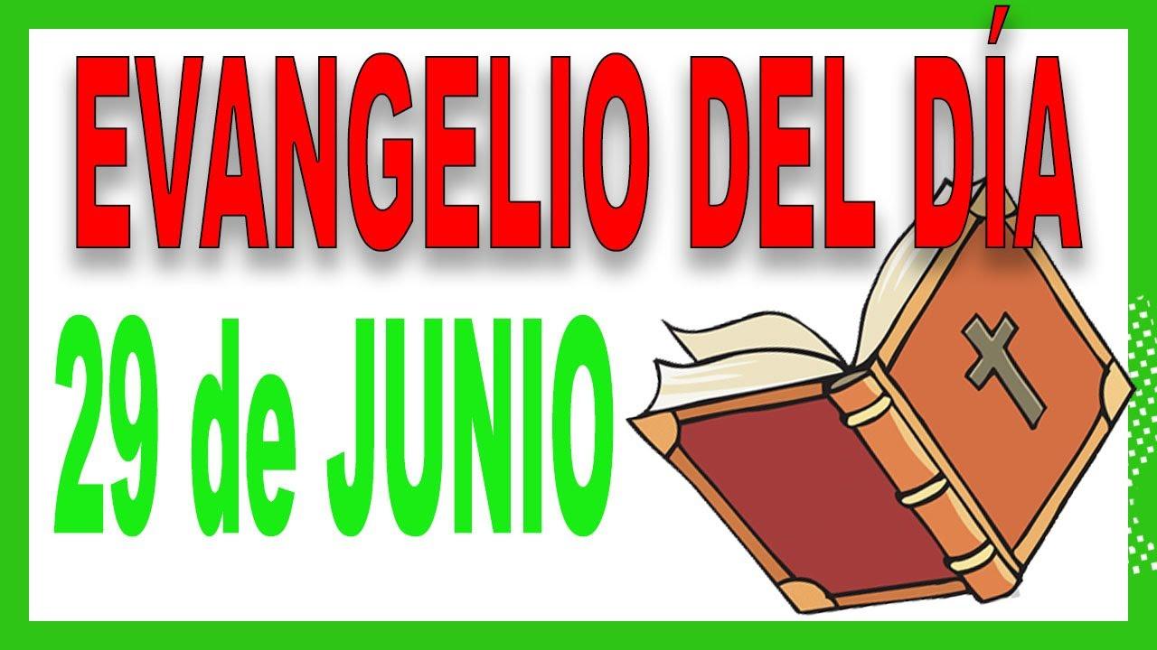 Evangelio del día 29 de junio