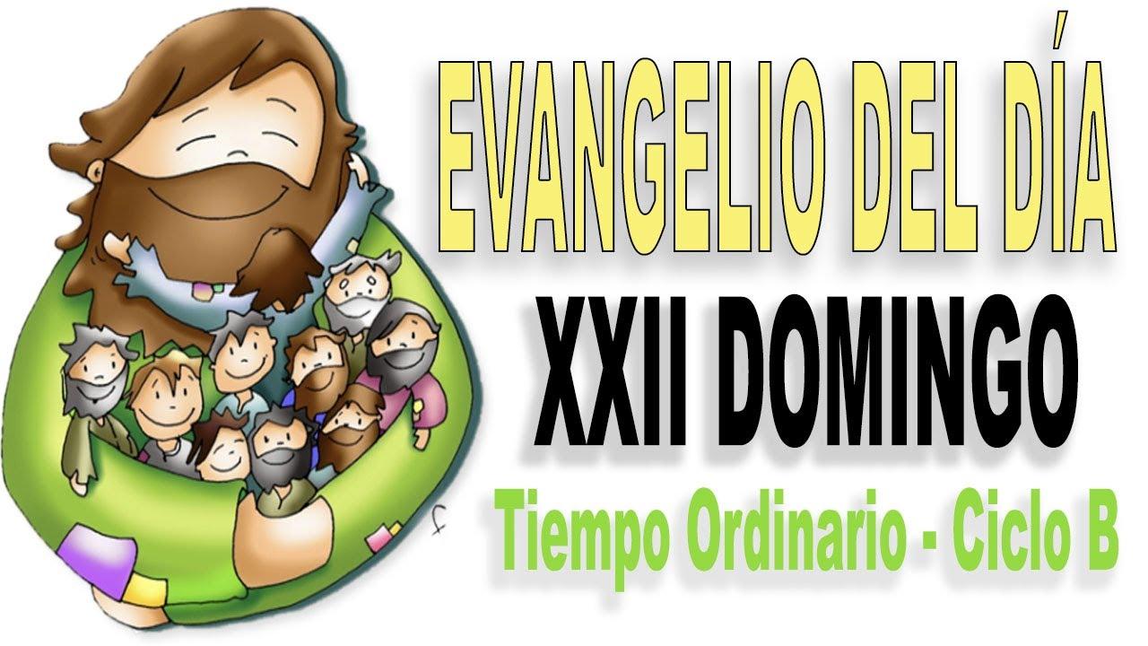 Evangelio del Domingo XXII del Tiempo ordinario - Ciclo B